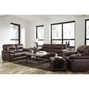Signature Design by Ashley Mellen Living Room Group - Item Number: 17401 Living Room Group 2