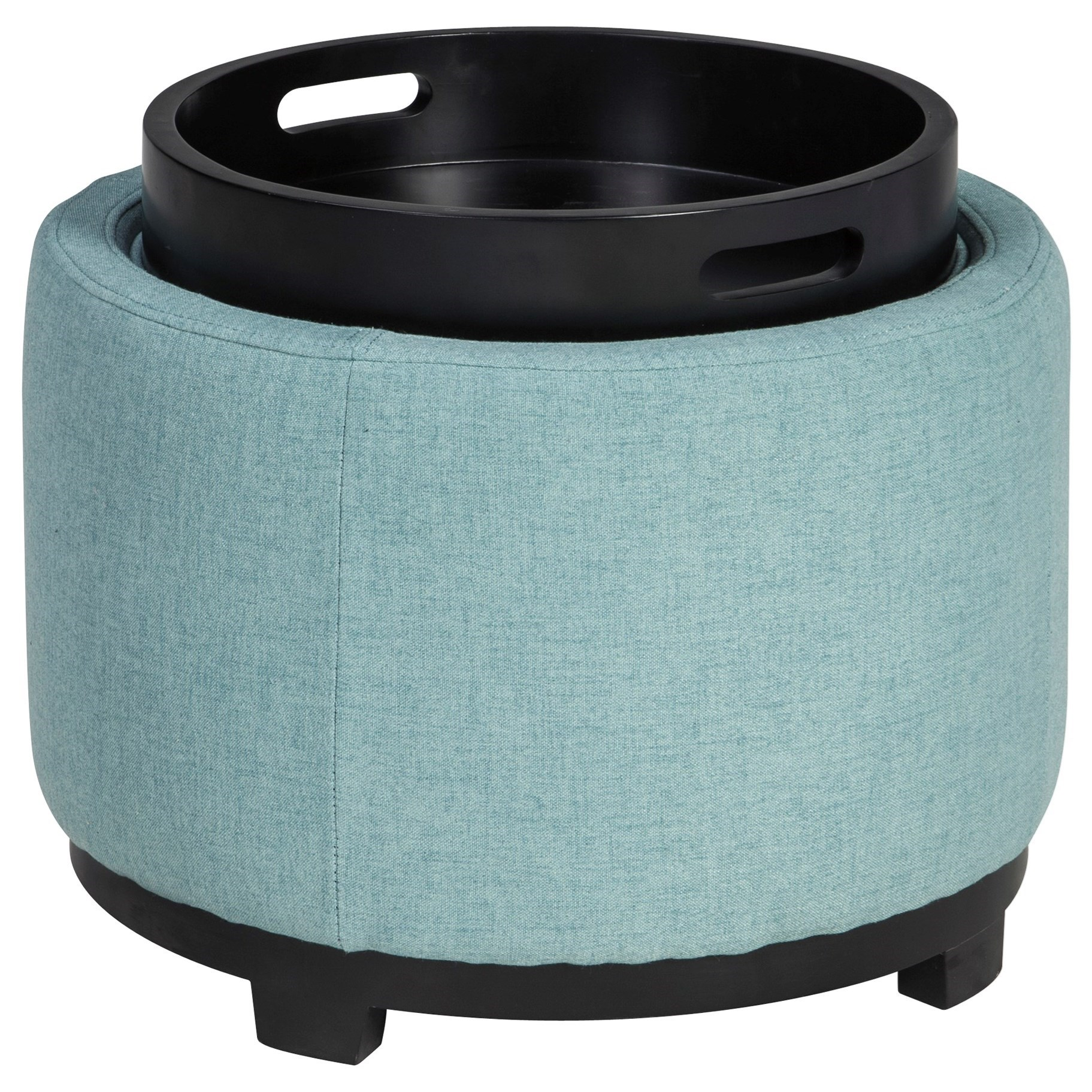 Signature Design by Ashley Menga Ottoman With Storage/Reversible Tray Top - Item Number: A3000033