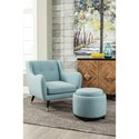 Signature Design by Ashley Menga Mid-Century Accent Chair with Canted Legs