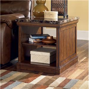 Signature Design by Ashley Merihill Rectangular End Table