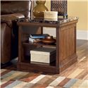Signature Design by Ashley Merihill Rectangular End Table - Item Number: T838-3