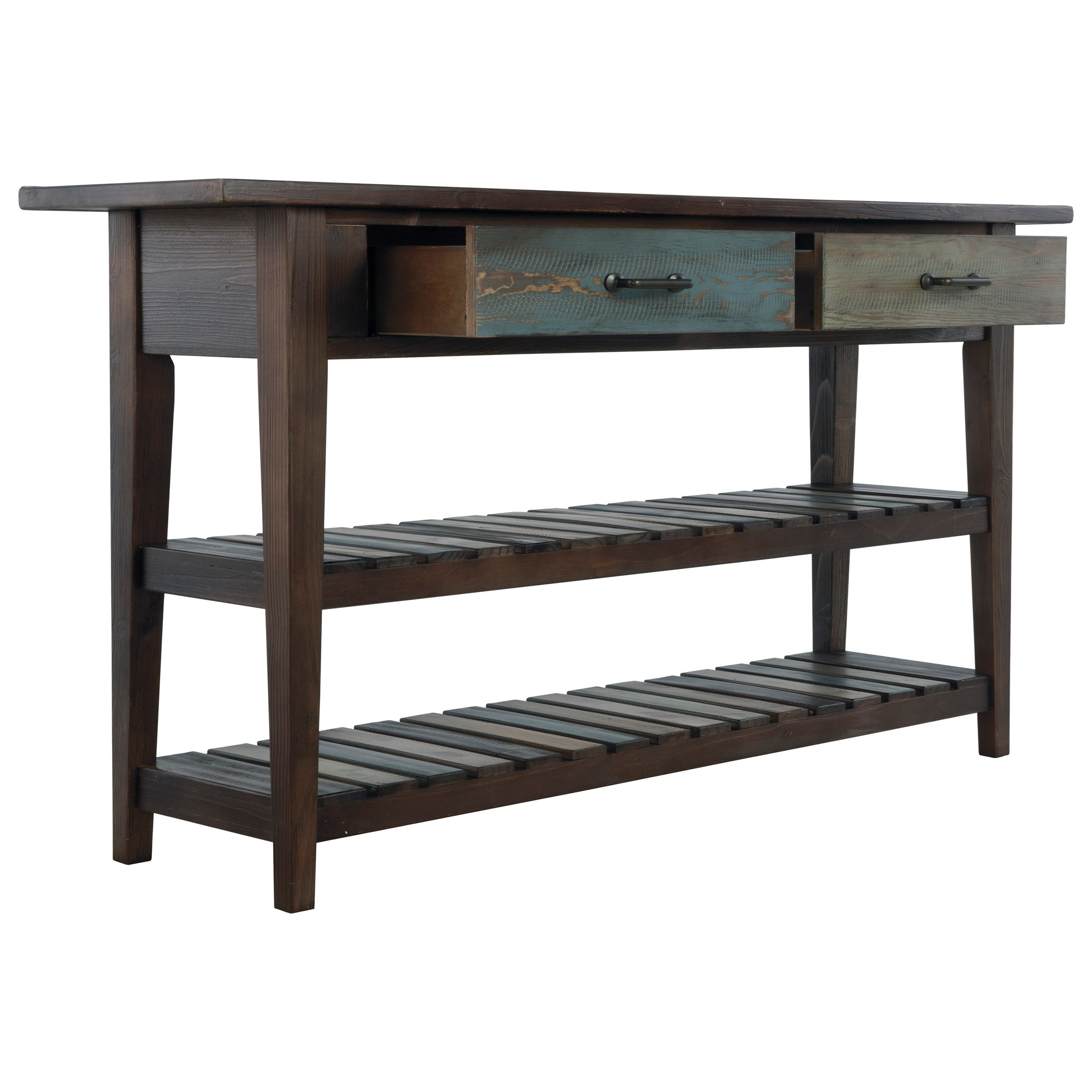 Signature Design By Ashley Mestler T580 4 Sofa Table With