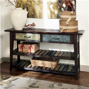 Signature Design by Ashley Mestler Sofa Table