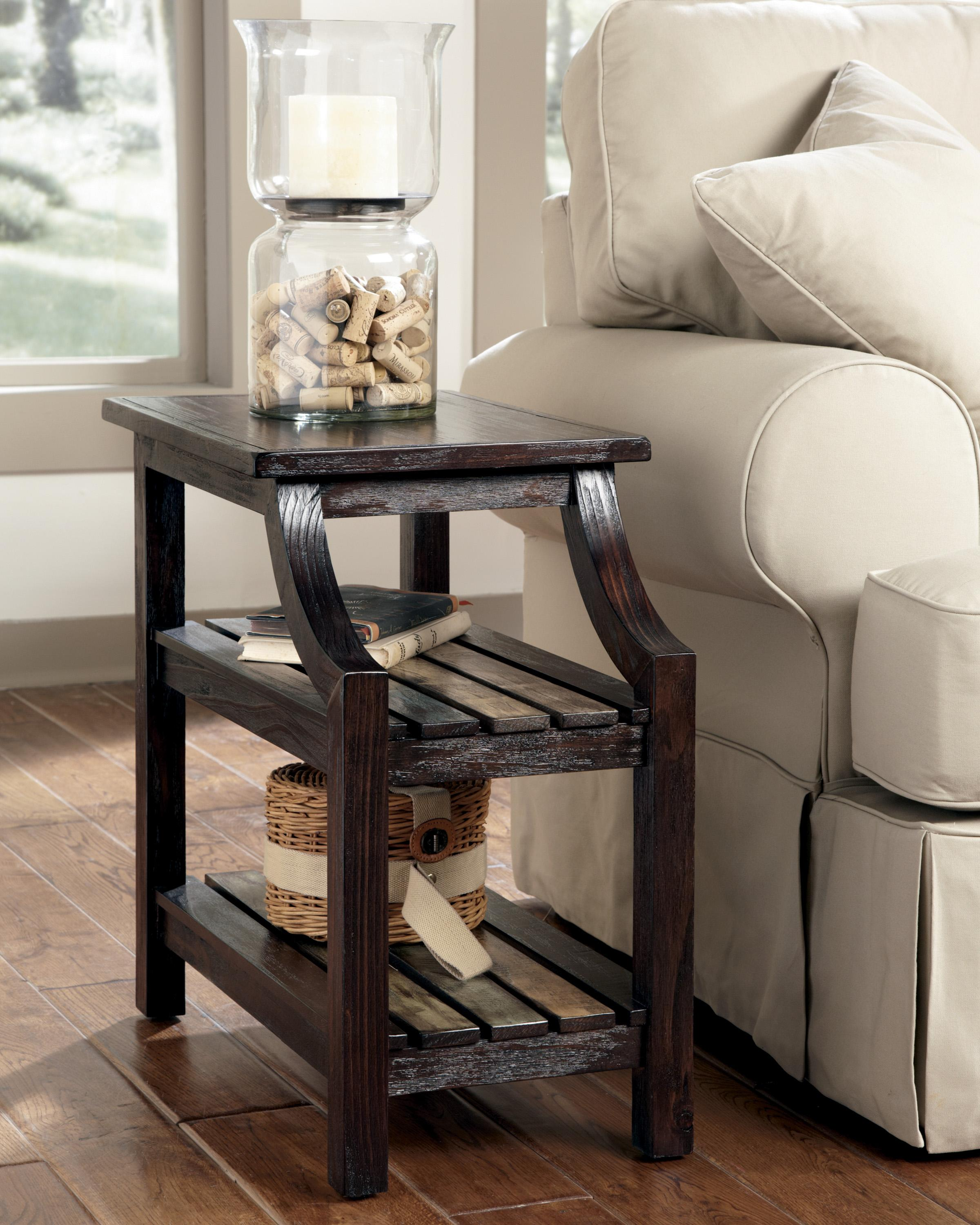 Dfw Direct Furniture: Signature Design By Ashley Mestler T580-7 Chairside End
