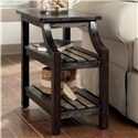 Signature Design by Ashley Mestler Chairside End Table - Item Number: T580-7