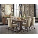 Signature Design by Ashley Mestler Dining Upholstered Side Chair with Button Tufting