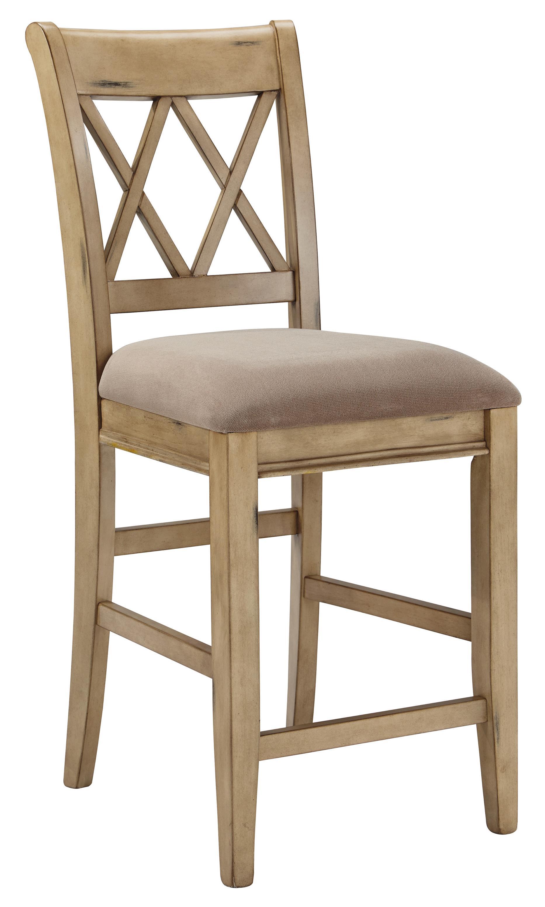 Signature Design by Ashley Mestler Upholstered Barstool - Item Number: D540-224