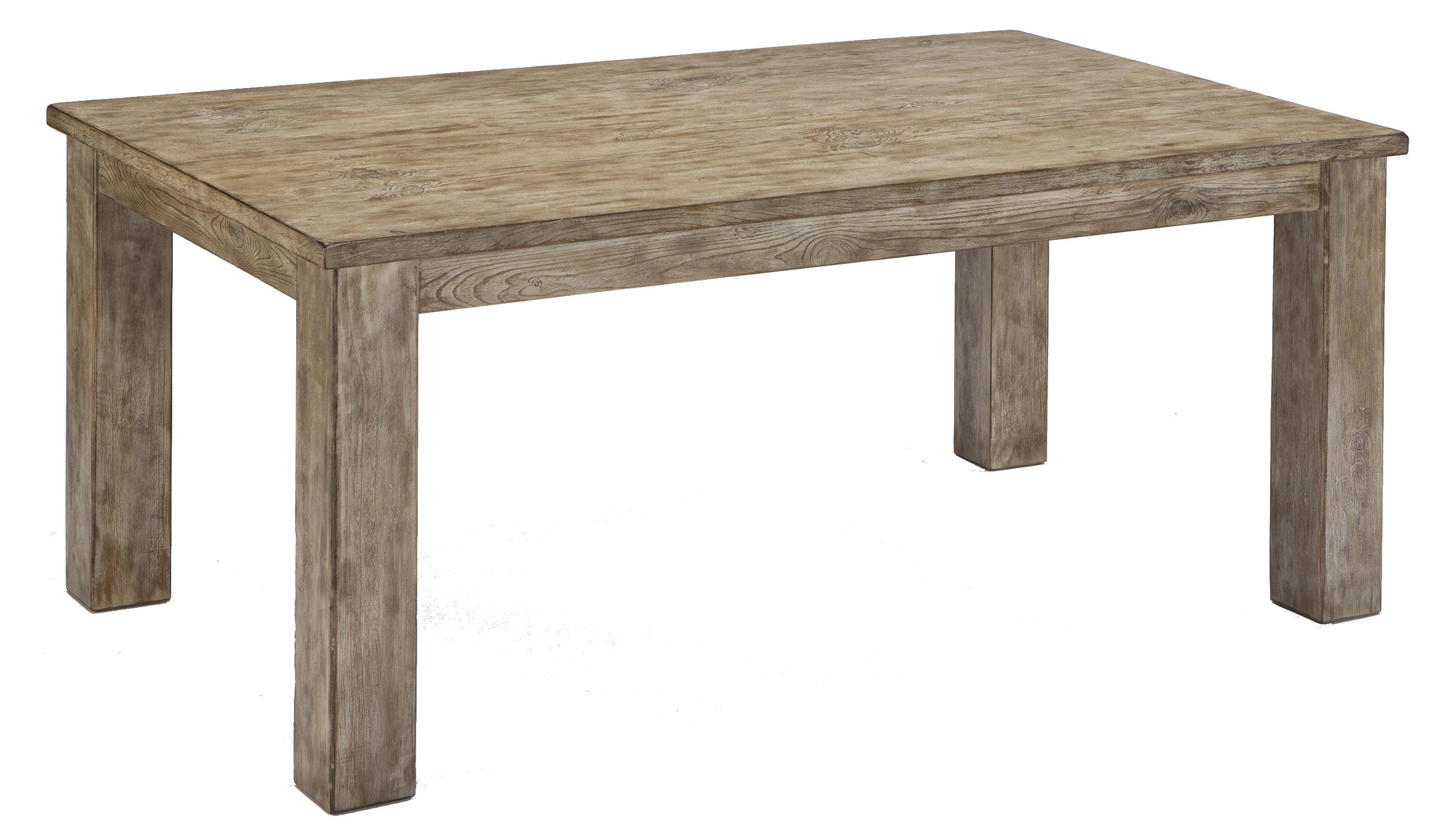 Signature Design by Ashley Mestler Rectangular Dining Room Table - Item Number: D540-225