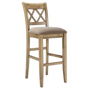 StyleLine Mestler Tall Upholstered Barstool