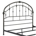 Signature Design by Ashley Nashburg Queen Arched Metal Headboard in Bronze Color Finish - Headboard Requires Bed Frame. Sold Separately.
