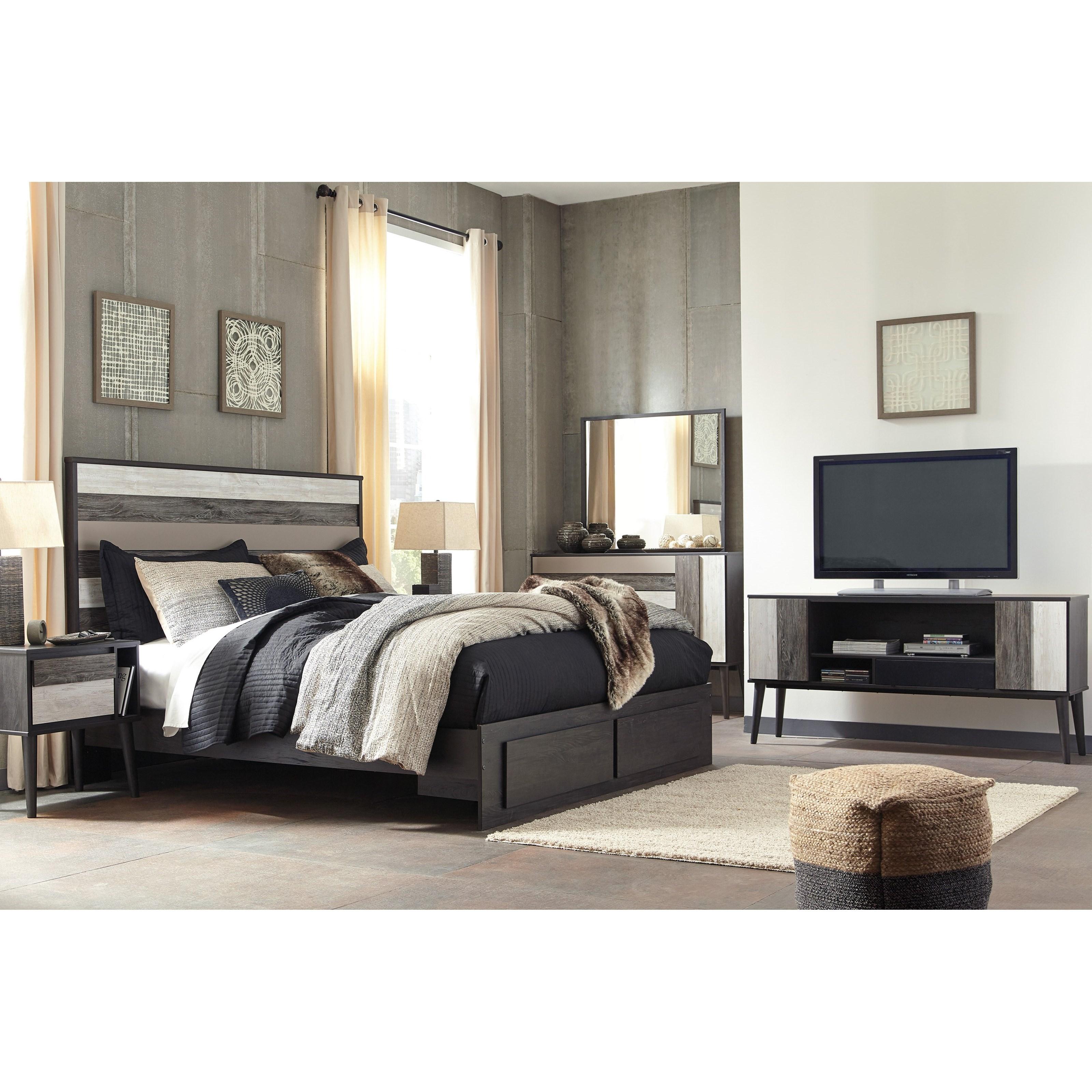 Signature Design by Ashley Micco King Bedroom Group - Item Number: B300 K Bedroom Group 1