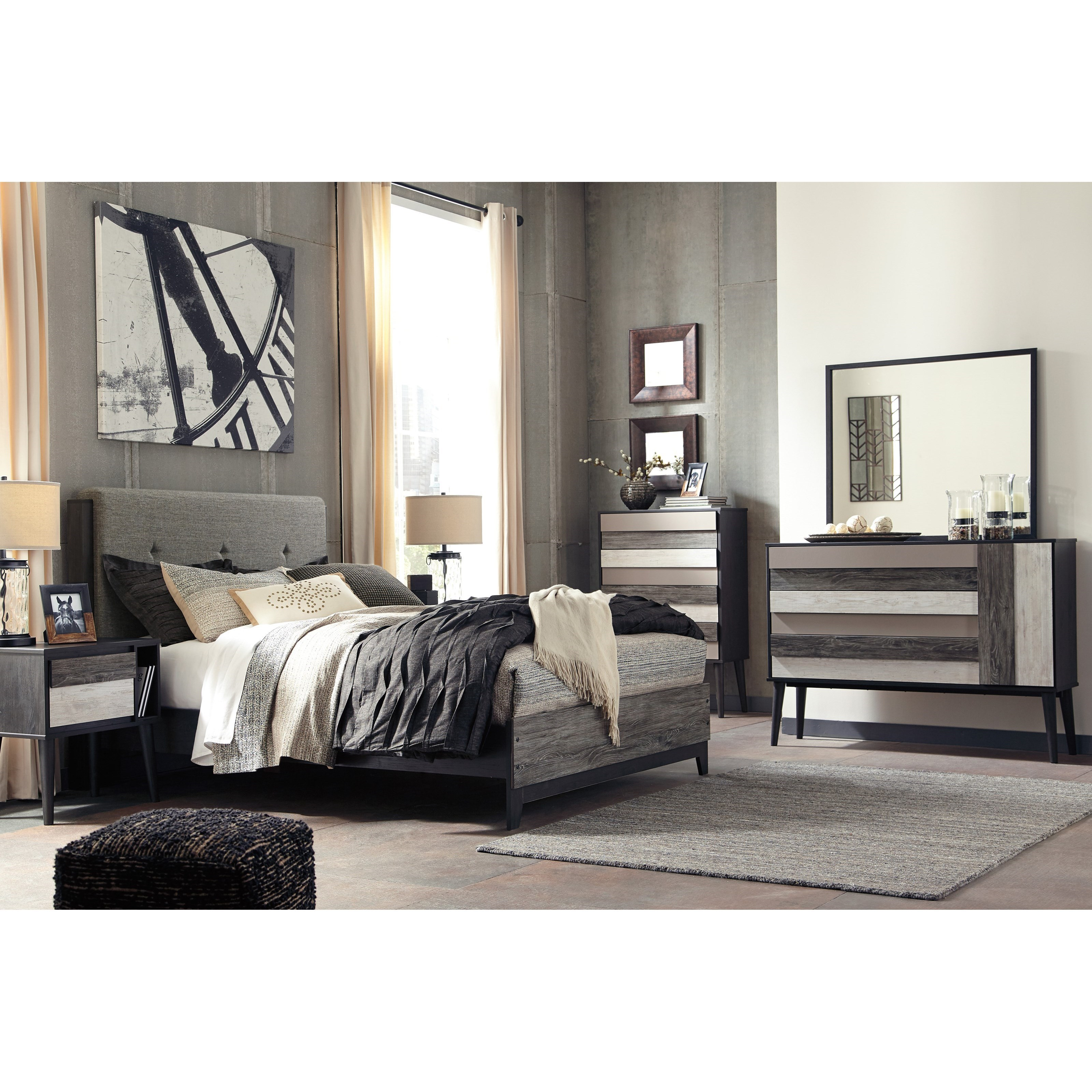 Signature Design by Ashley Micco Queen Bedroom Group - Item Number: B300 Q Bedroom Group 4