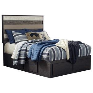 Signature Design by Ashley Micco Full Bed with Under Bed Storage