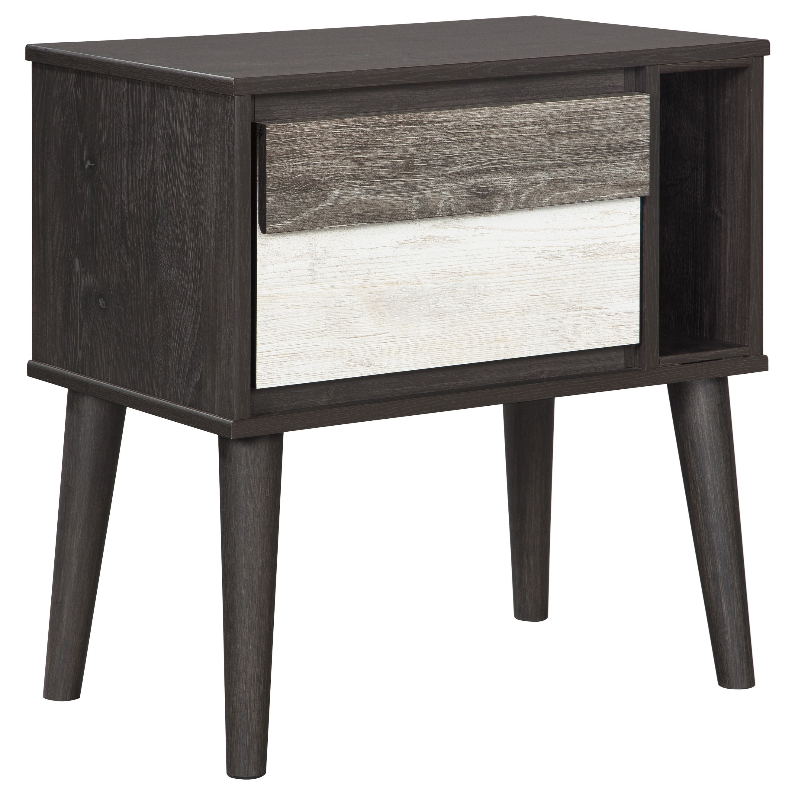 Signature Design by Ashley Micco One Drawer Night Stand - Item Number: B300-91