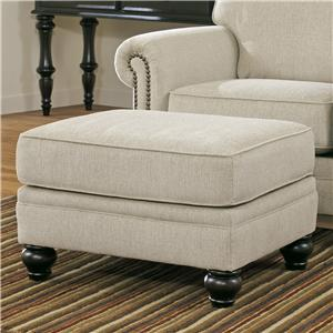 Signature Design by Ashley Milari - Linen Ottoman