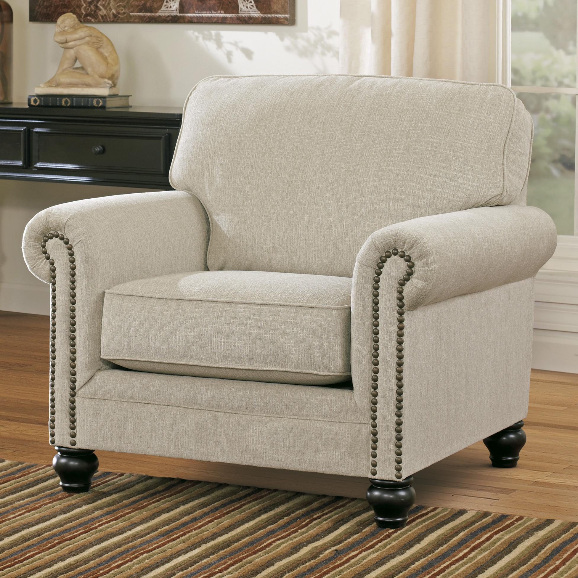 Ashley Signature Design Milari Linen Transitional Chair with