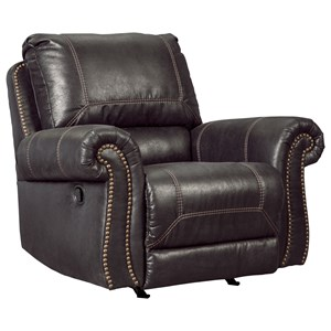 Signature Design by Ashley Furniture Milhaven Rocker Recliner