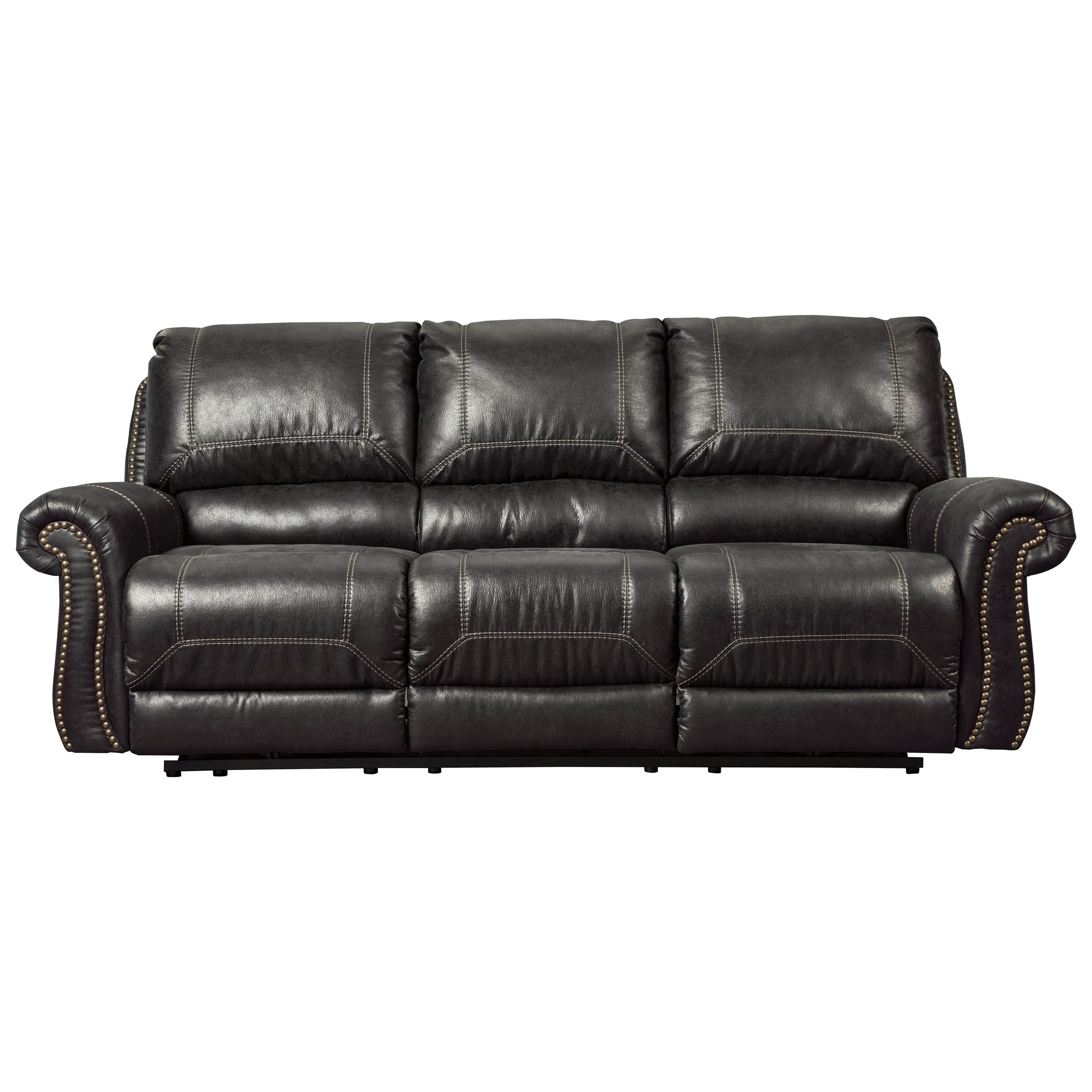 Signature Design by Ashley Milhaven Reclining Power Sofa - Item Number: 6330387