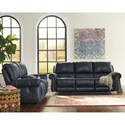 Signature Design by Ashley Milhaven Reclining Living Room Group - Item Number: 63304 Living Room Group 1