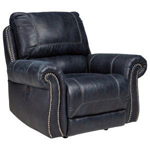 Signature Design by Ashley Milhaven Power Rocker Recliner