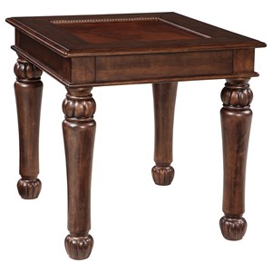 Ashley Signature Design Millburg Rectangular End Table