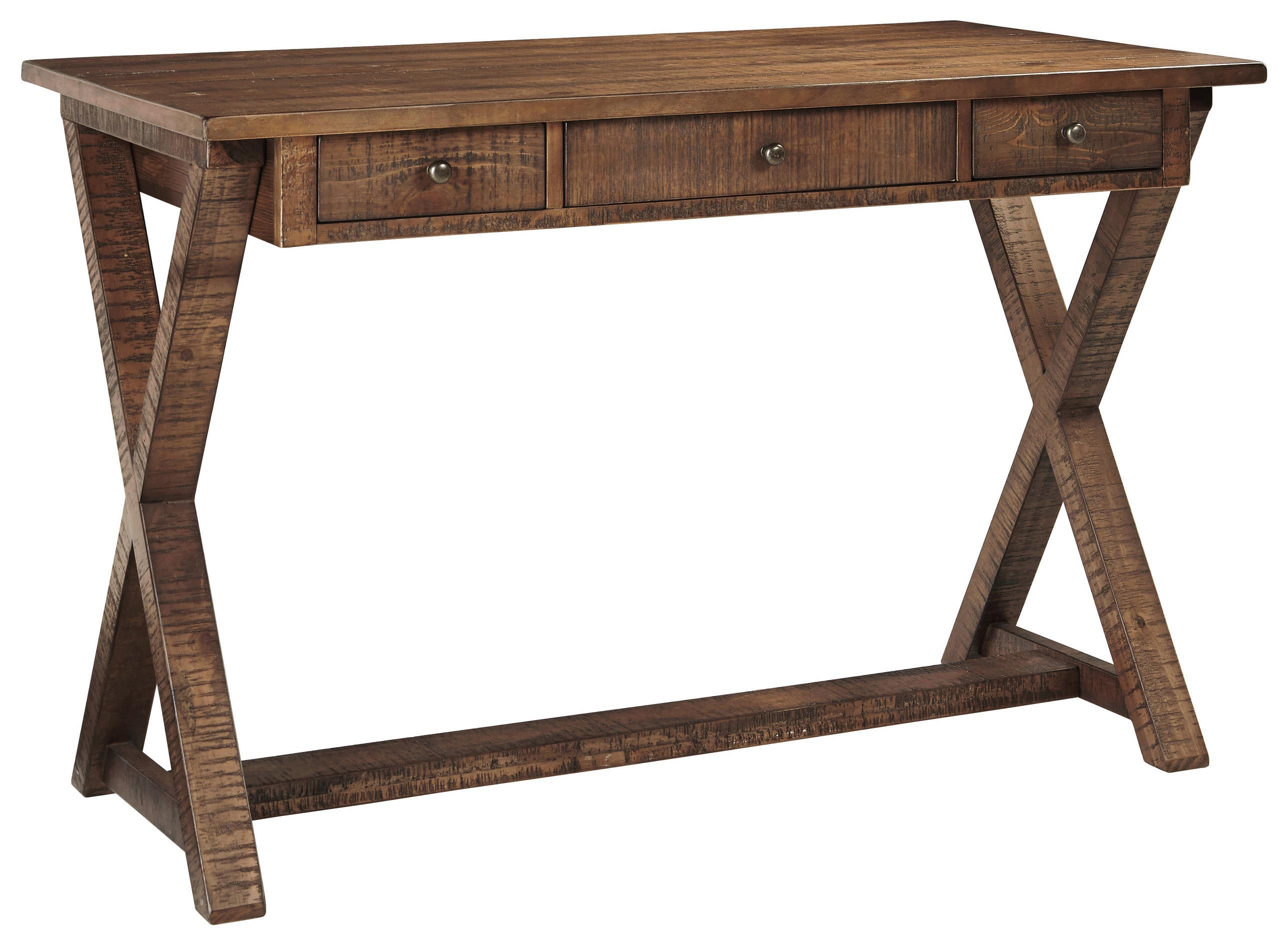 Signature Design by Ashley Minbreeze Home Office Large Leg Desk - Item Number: H588-11