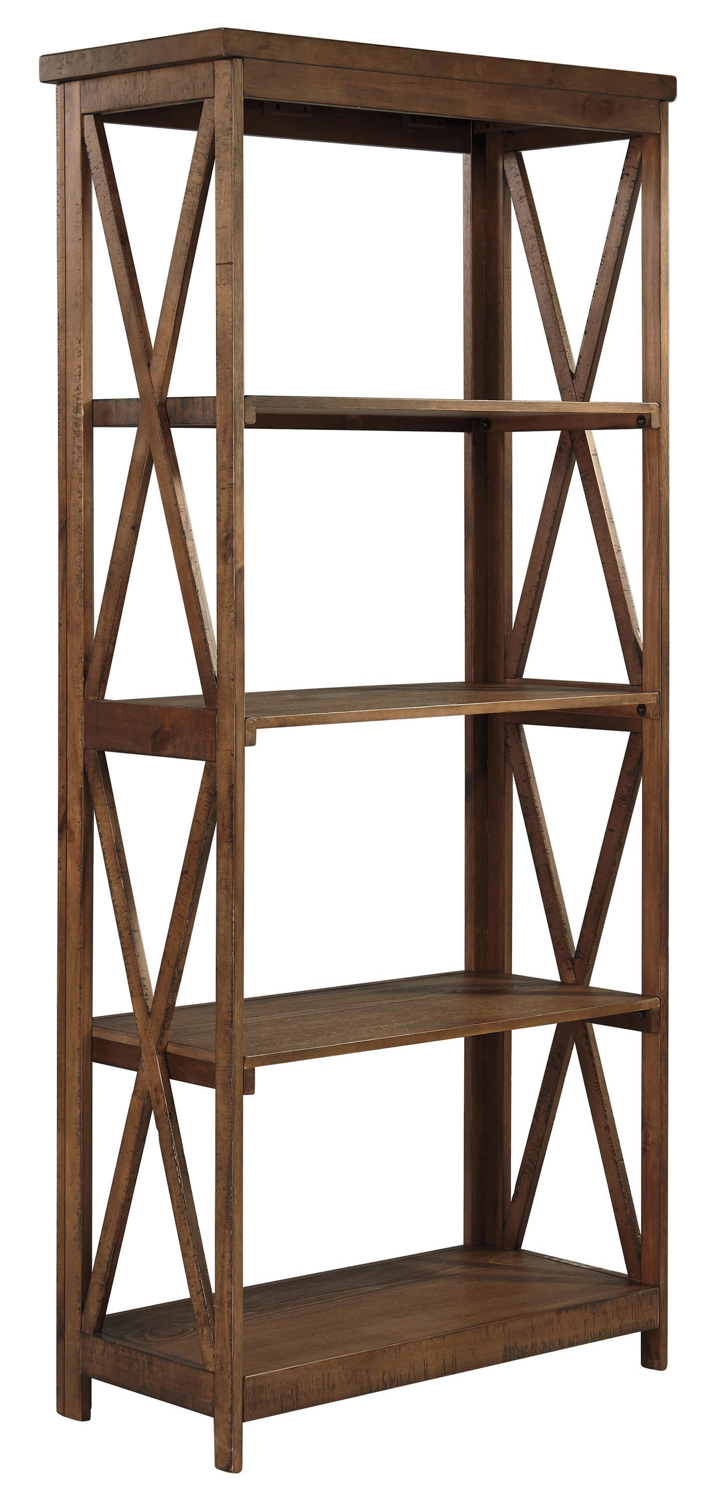 Signature Design by Ashley Minbreeze Large Bookcase - Item Number: H588-17