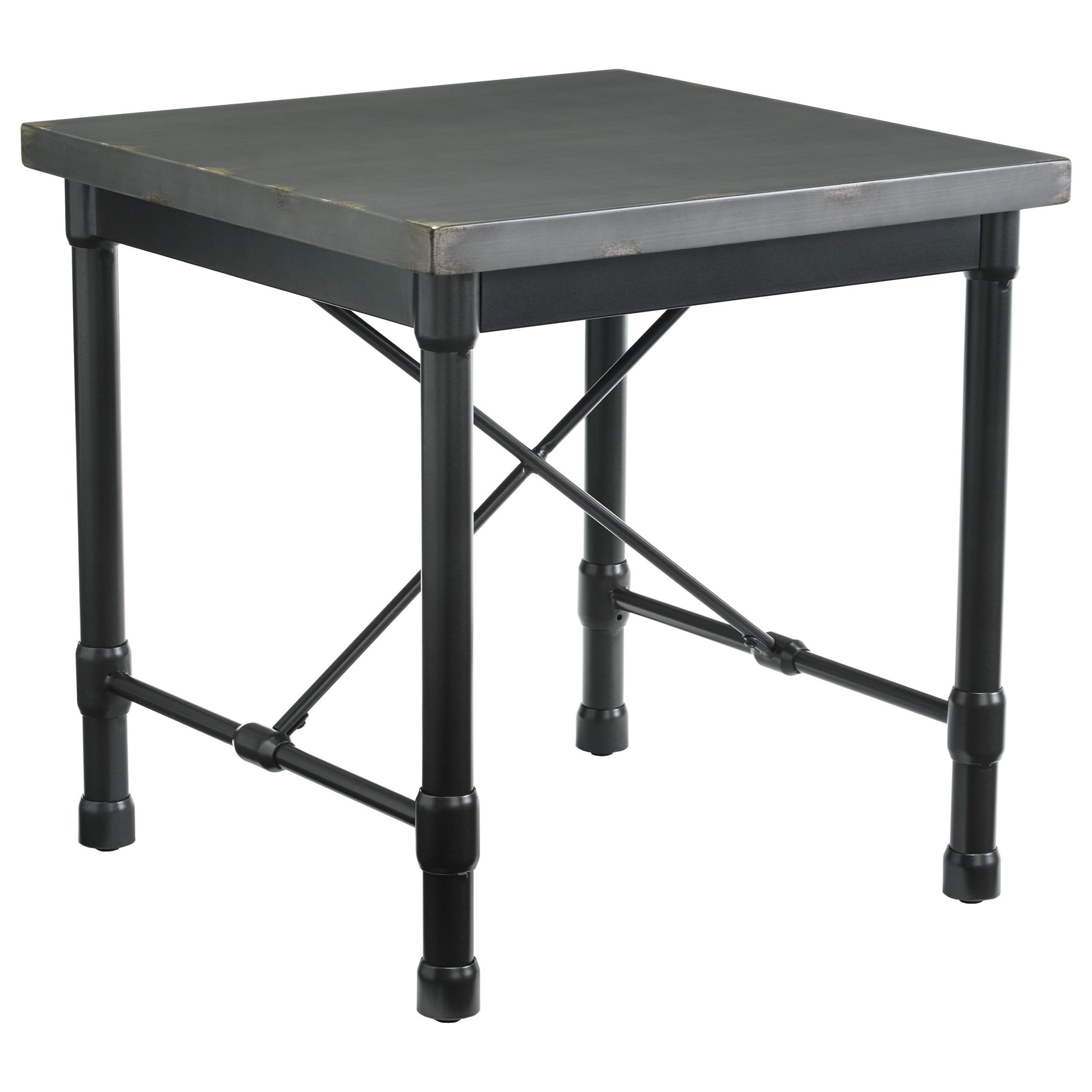 Signature Design by Ashley Minnona Square End Table - Item Number: T328-2