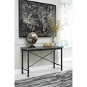 Signature Design by Ashley Minnona Industrial Sofa Table