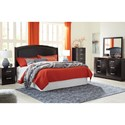 Signature Design by Ashley Minota King Bedroom Group - Item Number: B385 K Bedroom Group 1