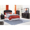 Signature Design by Ashley Minota Queen Bedroom Group - Item Number: B385 Q Bedroom Group 1