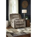 Signature Design by Ashley Minturn  Casual Biscuit Tufted Rocker Recliner with Power