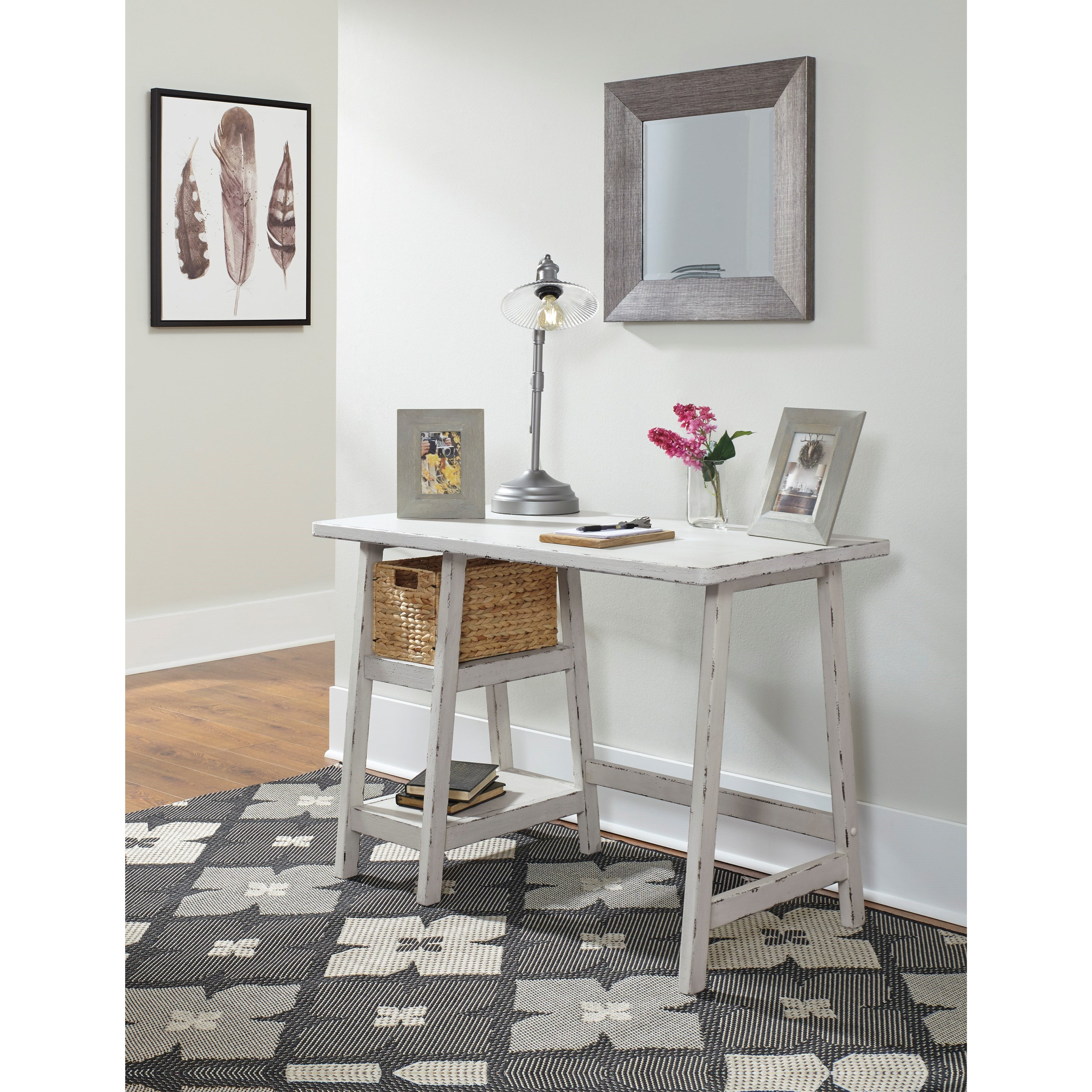 Small Home Office Furniture: StyleLine Mirimyn H505-510 Home Office Small Desk With