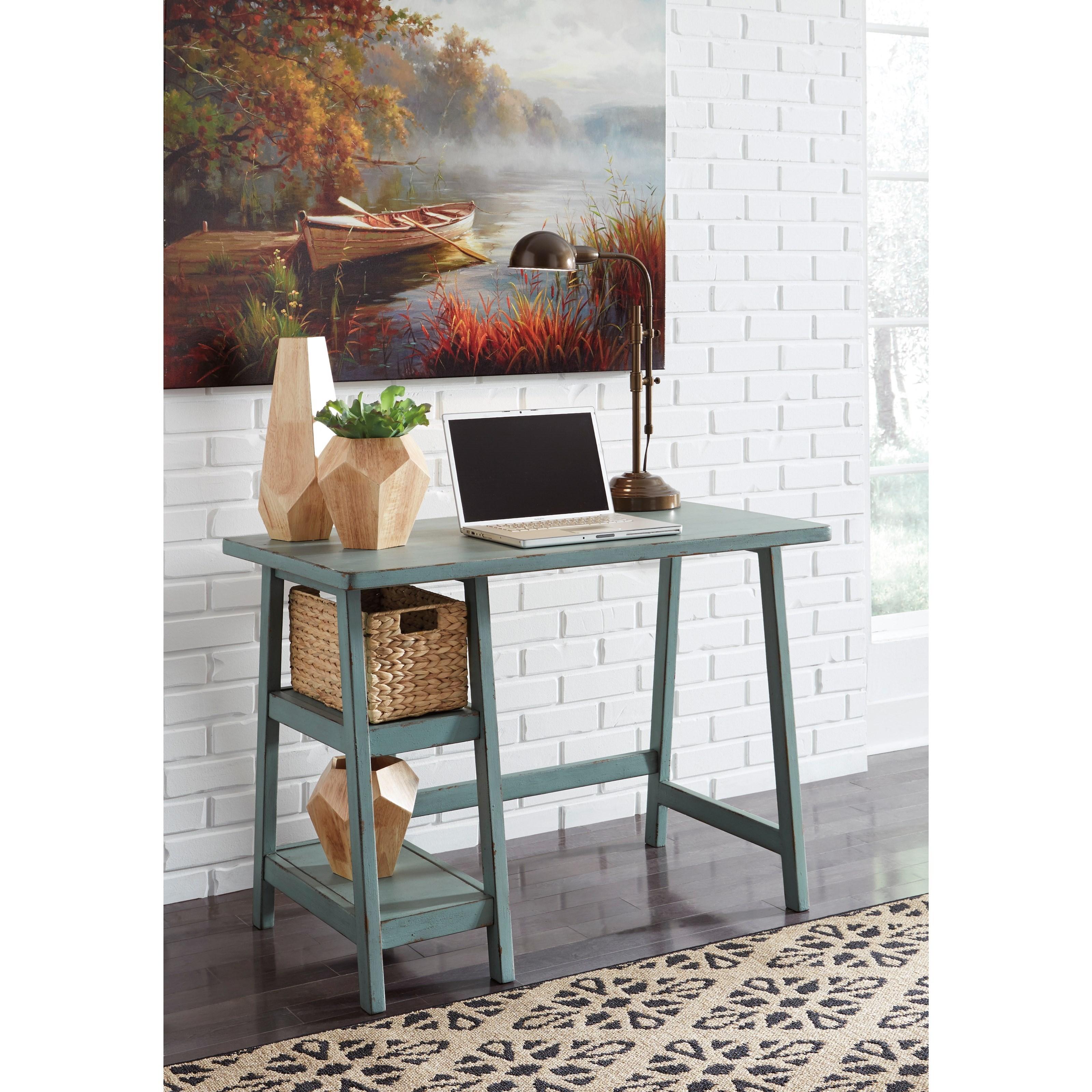 Small Home Office Furniture: Signature Design By Ashley Mirimyn Home Office Small Desk