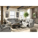 Signature Design by Ashley Mitchiner Reclining Living Room Group - Item Number: 76204 Living Room Group 1