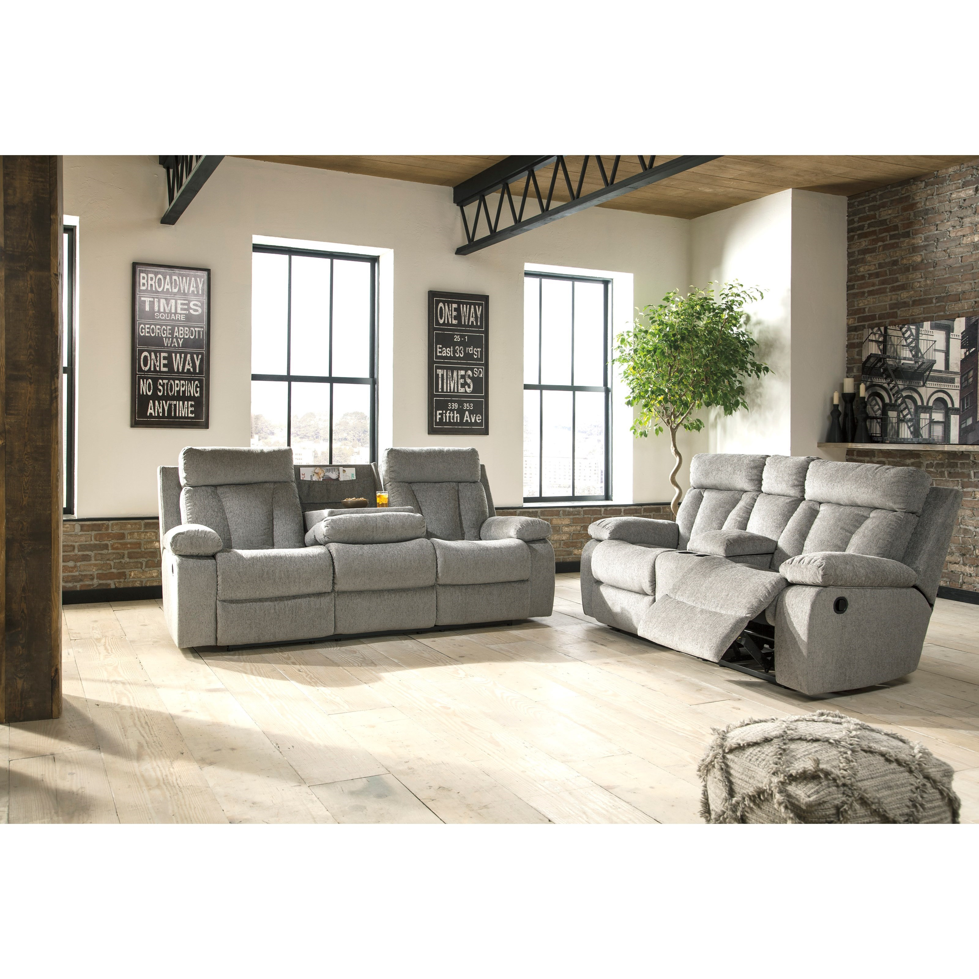 Furniture By Ashley: Signature Design By Ashley Mitchiner Reclining Living Room