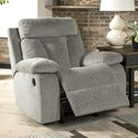 Signature Design by Ashley Mitchiner Casual Rocker Recliner with Infinite Reclining Positions