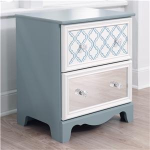 Signature Design by Ashley Furniture Mivara Two Drawer Night Stand