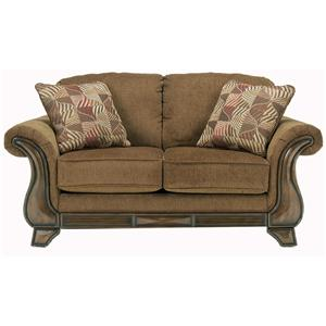 Signature Design by Ashley Montgomery - Mocha Loveseat