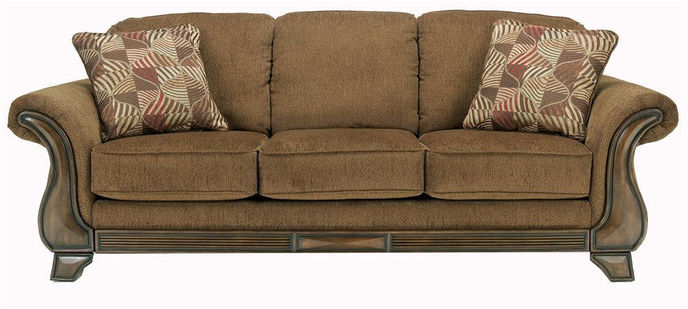 Signature Design by Ashley Montgomery - Mocha Sofa - Item Number: 3830038