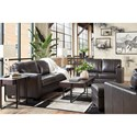 Signature Design by Ashley Morelos Stationary Living Room Group - Item Number: 34503 Living Room Group 3
