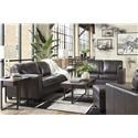 Signature Design by Ashley Morelos Sofa, Loveseat and Chair Set - Item Number: 3450338+35+20