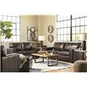 Signature Design by Ashley Morelos Sofa, Chair and Ottoman Set - Item Number: 807334519