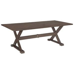 Signature Design by Ashley Moresdale Outdoor Rectangular Dining Table