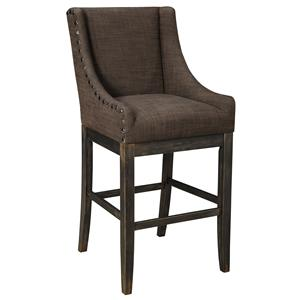 Signature Design by Ashley Moriann Tall Upholstered Barstool