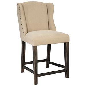 Signature Design by Ashley Moriann Upholstered Barstool