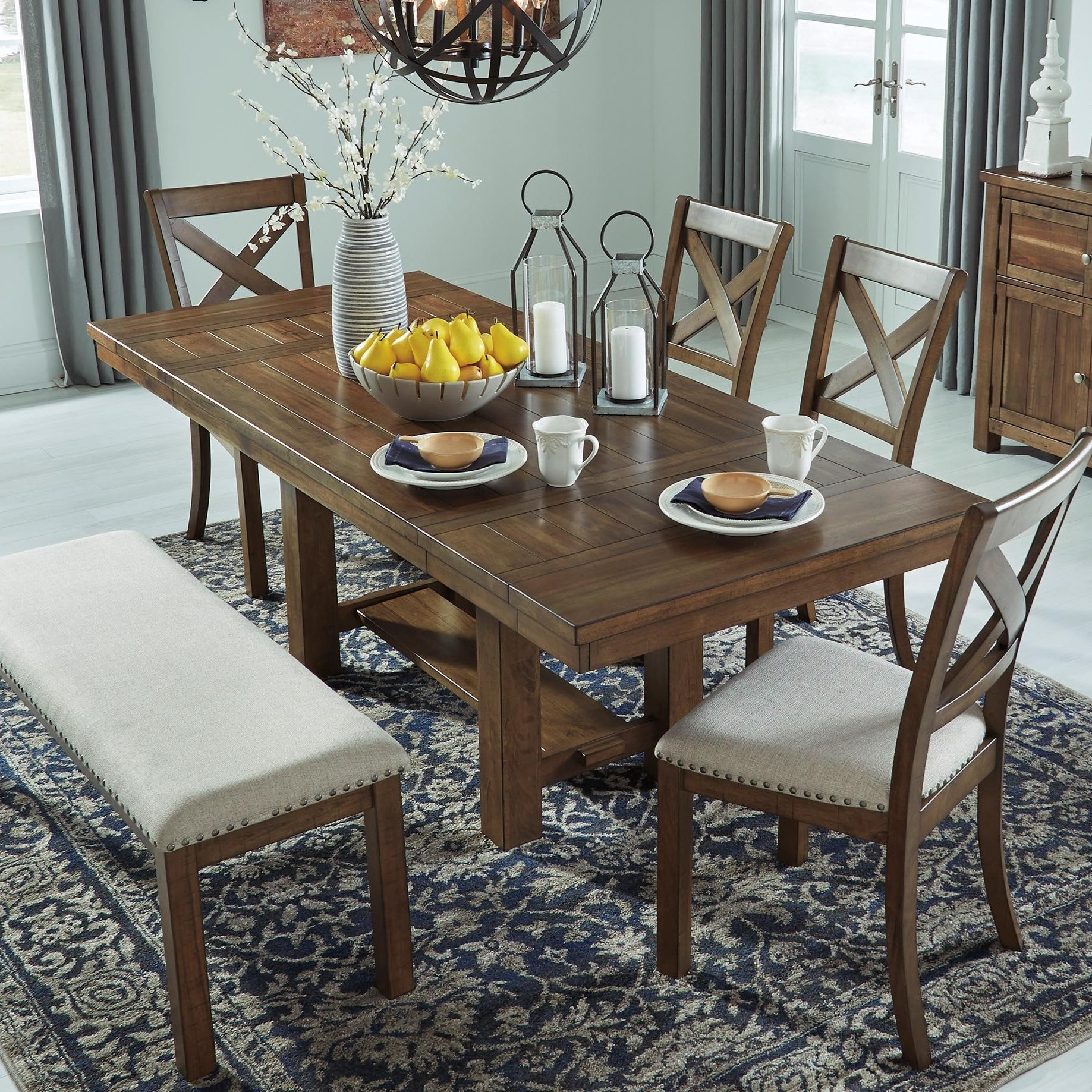 Ashley S Nest Decorating A Dining Room: Signature Design By Ashley Moriville D631-45 Rectangular