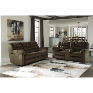 Ashley (Signature Design) Mort Reclining Living Room Group