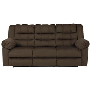 Signature Design by Ashley Mort Reclining Sofa