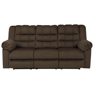 Ashley Signature Design Mort Reclining Sofa